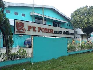 PT Fondanusa Aditama - Produksi