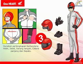 alat safety gear untuk mudik