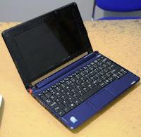 jual Acer Aspireone ZG5 bekas