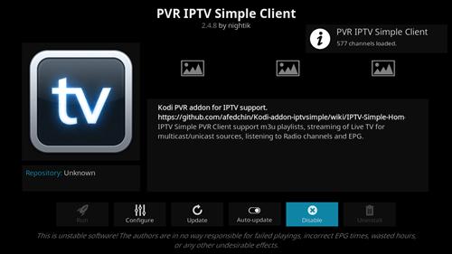 برنامج kodi العملاق لمشاهدة القنوات بدون تقطيع وتشغيل ملفات iptv