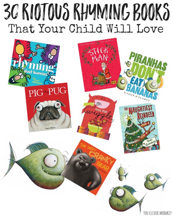 30 Riotous Rhyming Picture Books To Share | you clever monkey