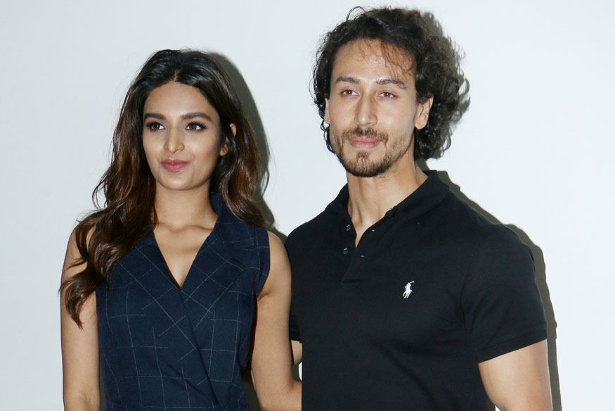 Tiger Shroff and Nidhhi Agerwal Promote Movie Munna Michael In Mumbai