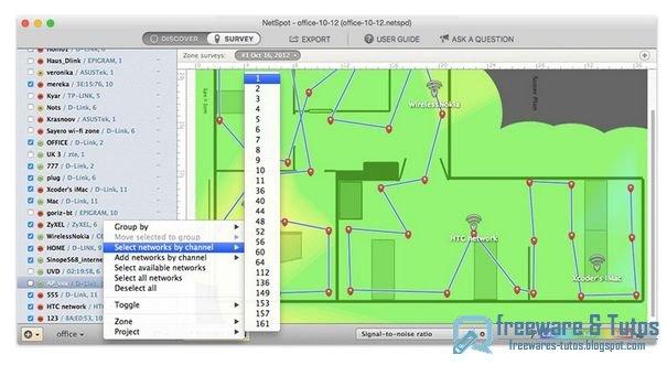 Netspot : analyser et régler son réseau wifi
