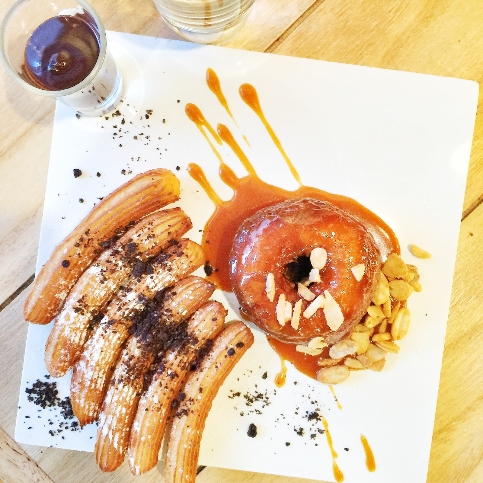 Penang: The Alley Cafe - Cronut and Churros