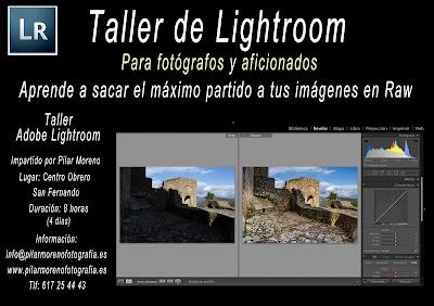 Curso Lightroom en San Fernando