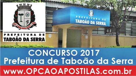 Apostila Prefeitura de Taboão da Serra 2017