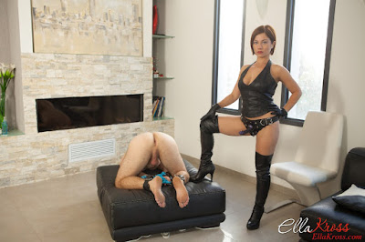 femdom mistress dominatrix ella kross serving me dominacion femenina