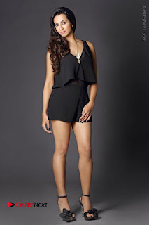 Actress Sanjjanaa Galrani Latest Po Shoot Gallery in Black Dress  0009.JPG