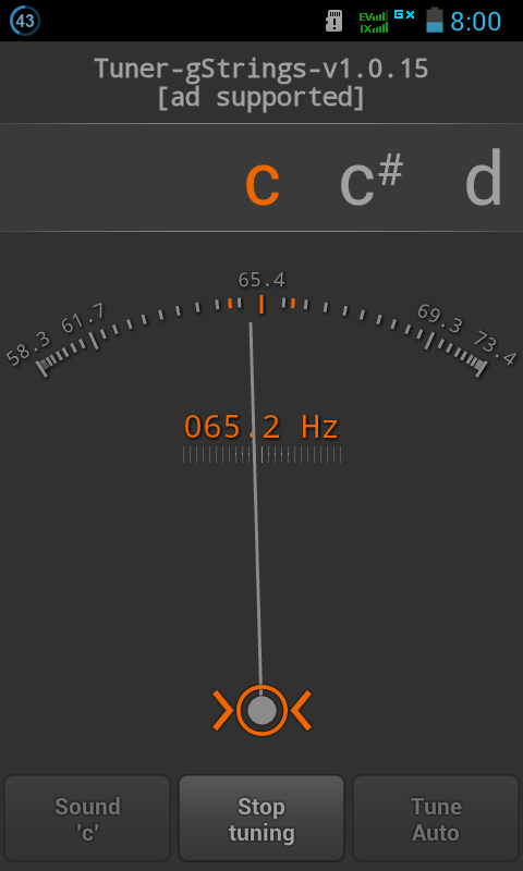 Software Tuner Gstring