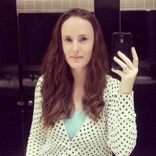Pre-haircut selfie