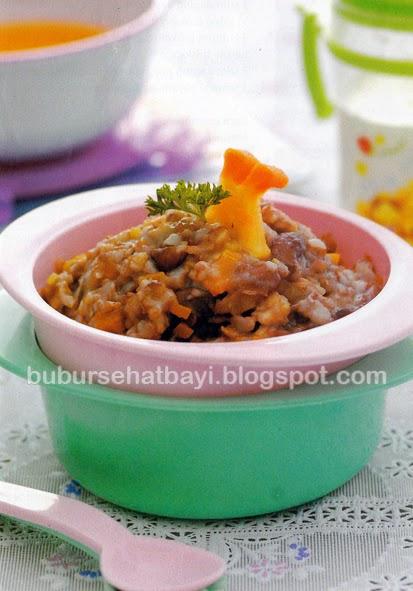 Senangnya Merawat Bayi Tumbuh Sehat Cara Membuat Aneka Resep Bbbubur Nasi Merah Menu Makan Resep Bubur Nasi Merah