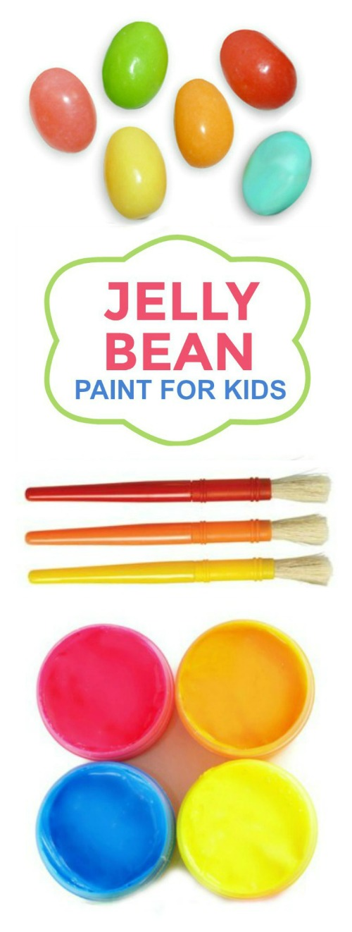 JELLY BEAN PAINT FOR KIDS- how cool!! #eastercraftsforkids #easteractivitiesforkids #eastercrafts #easteractivities #paintingideas #paintingideasforkids #artsandcraftsforkids #activitiesforkids #craftsforkids