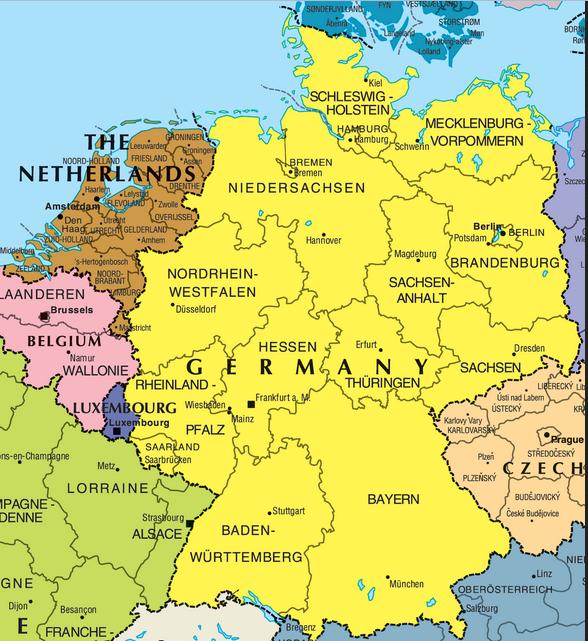 karta tyskland Karta över Tyska Staten Bild | Karta över Sverige, Geografisk  karta tyskland