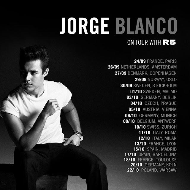 Jorge Blanco On Tour
