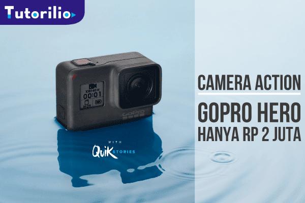 Produk terbaru GoPro hero pesaing Xiomi Yi di indonesia