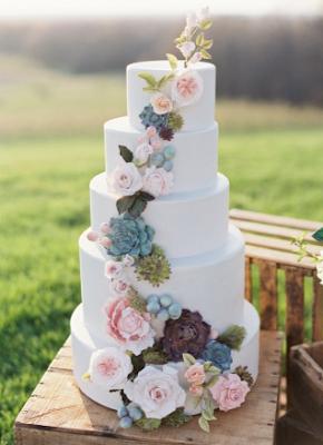 12 Days Of Wedding Planning: The Wedding Cake!