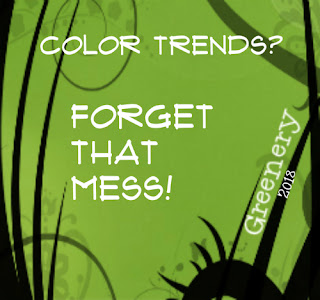 color trends greenery