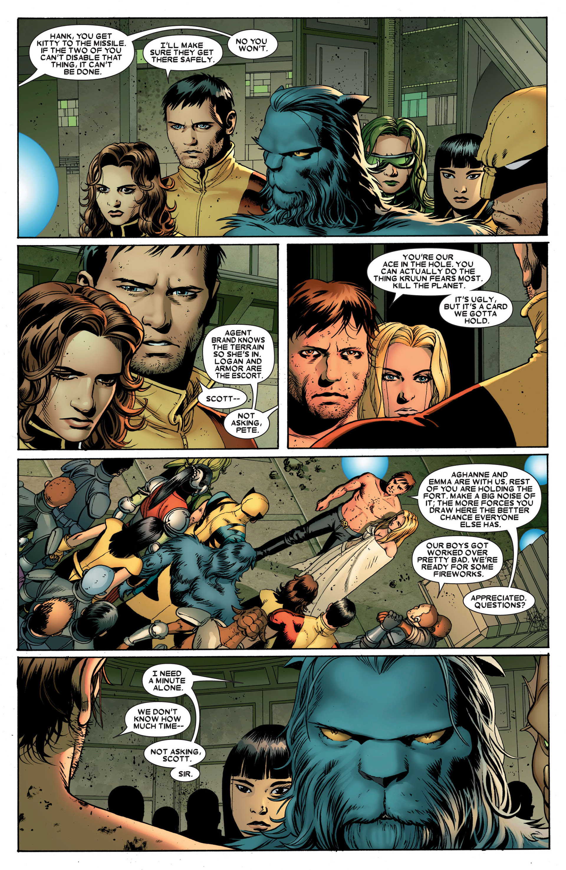 Read online Astonishing X-Men (2004) comic -  Issue #24 - 4