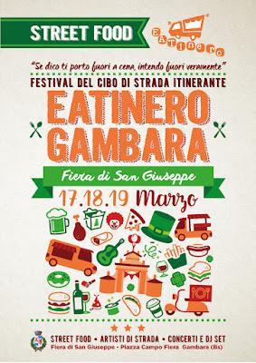 Eatinero: street food festival 17-18-19 marzo Gambara (BS)
