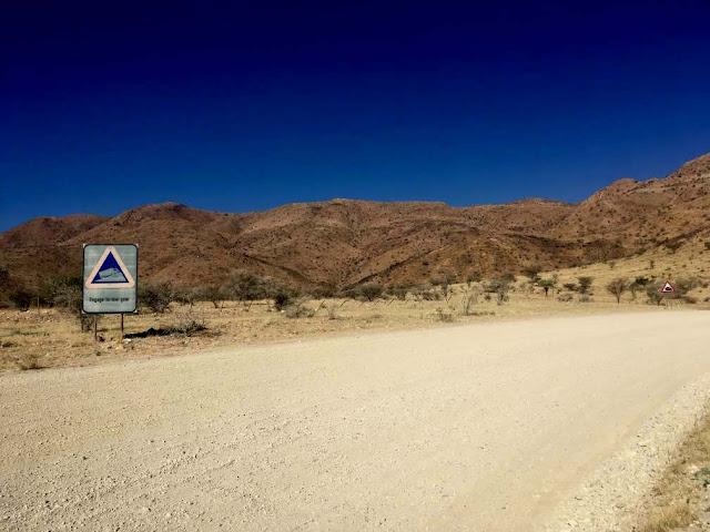 Bajada de Spreetshoogte Pass Namibia