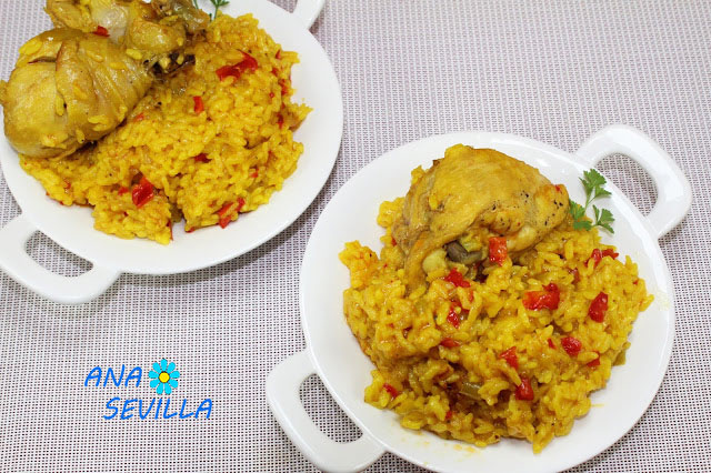 Arroz con pollo al curry Tradicional