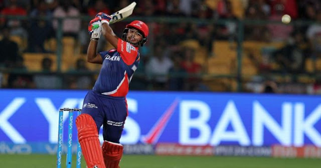 Rishabh Pant Top 5 batting performances of the IPL 2018