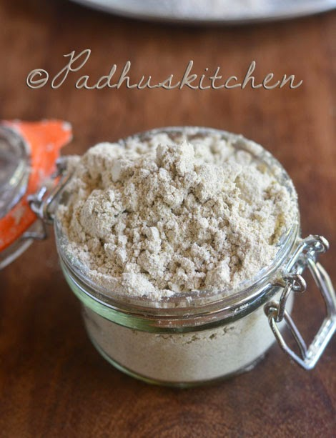 Homemade Health Mix Powder-Sathu Maavu Kanji Powder