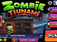 Zombie Tsunami Mod Apk v3.6.4 Unlimited Coins Terbaru