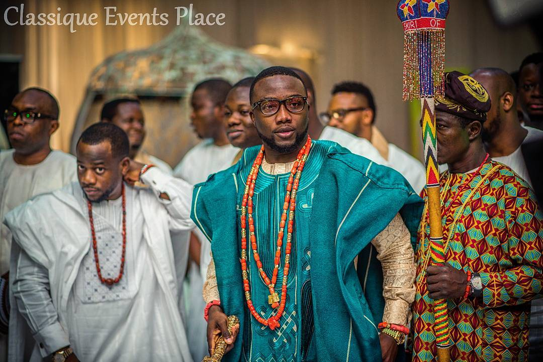 Ex President OBJ Attends The Wedding Reception Of The Prince Of Ero Land