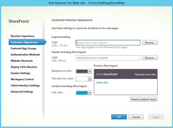 Installing and configuring Citrix StoreFront 3 5 - TECHSUPPORT