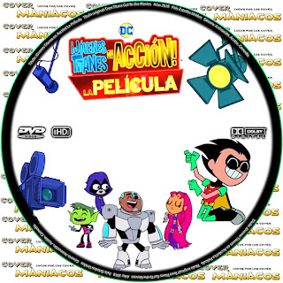 GALLETA JOVENES TITANES EN ACCION! LA PELICULA - TEEN TITANS GO! TO THE MOVIES - 2018