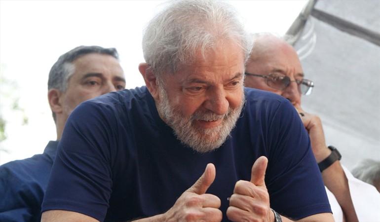 Justicia brasileña decreta la libertad del expresidente Luiz Inácio Lula da Silva