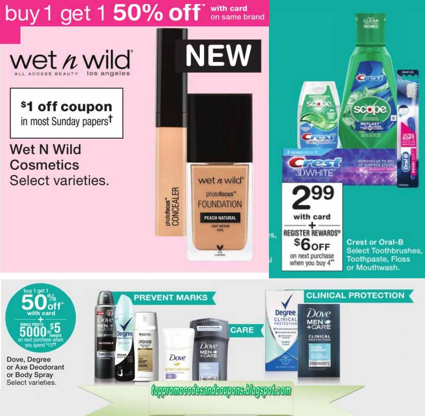 walgreens online coupons code