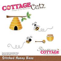 http://www.scrappingcottage.com/cottagecutzstitchedhoneybees.aspx