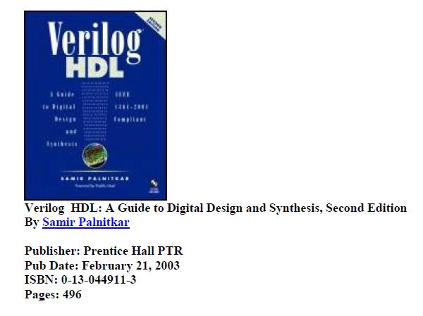 Verilog HDL 15EC53