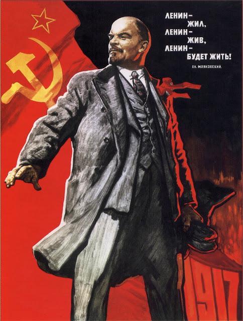 Ленин жил Ленин жив Ленин будет жить