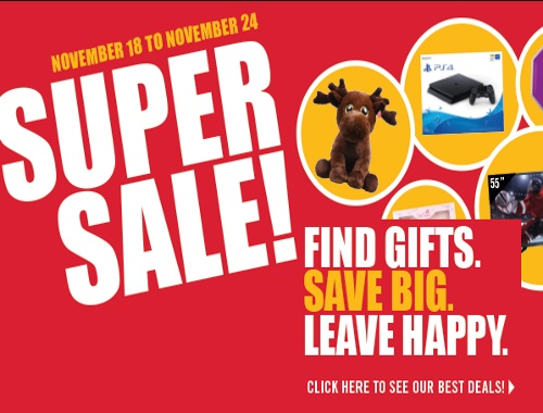 Shoppers Drug Mart Black Friday Super Sale