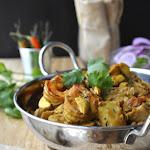 Raw Jack Fruit Prawn Curry