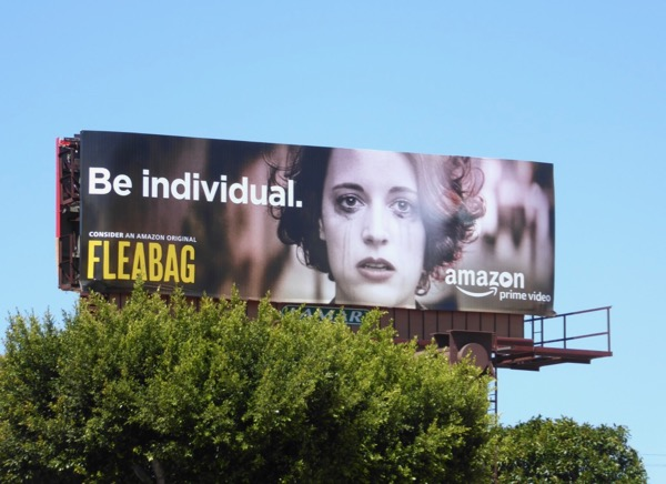 Fleabag Be individual 2017 Emmy billboard