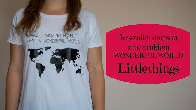 RECENZJA: Koszulka z nadrukiem | Littlethings