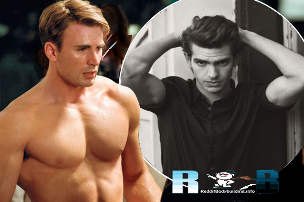 Chris Evans Bodybuilding Vs Andrew Garfield Spiderman Workout