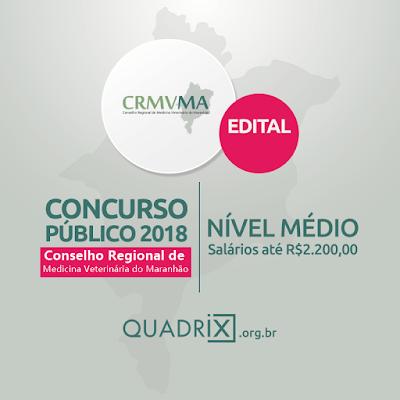 Edit Concurso do CRMV-MA 2018