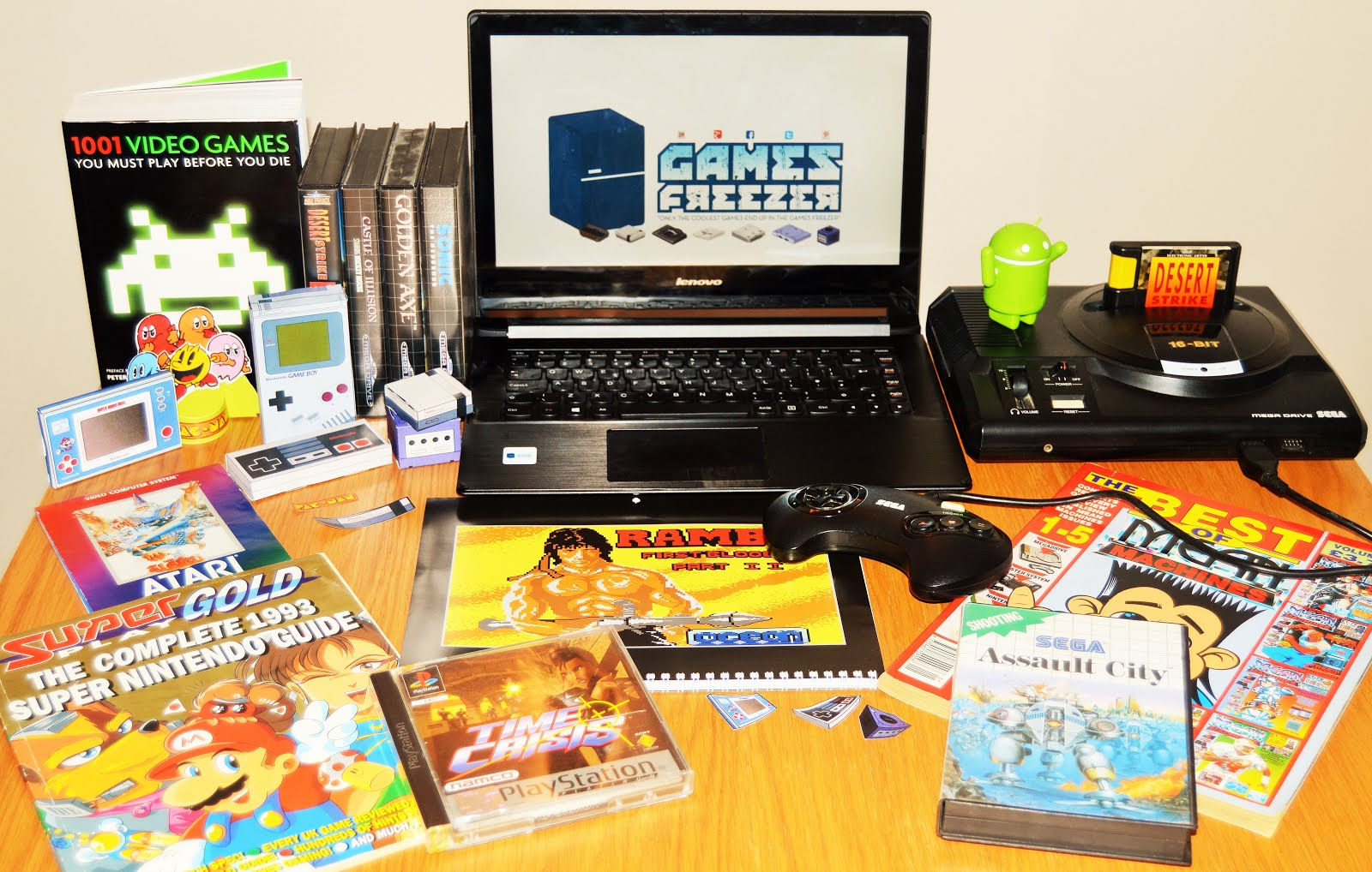 1001 Games To Play Before You Die List ☆watch out for the great retrogaming magazine thief in the