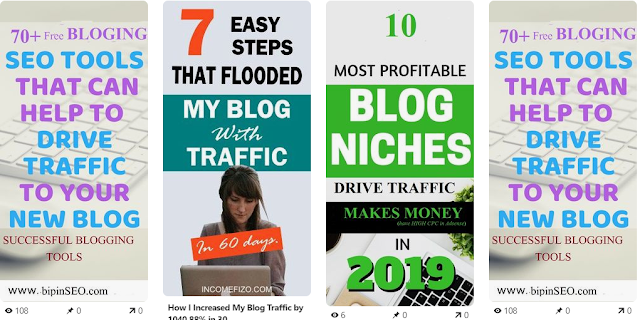 pinterest traffic generation tips from images