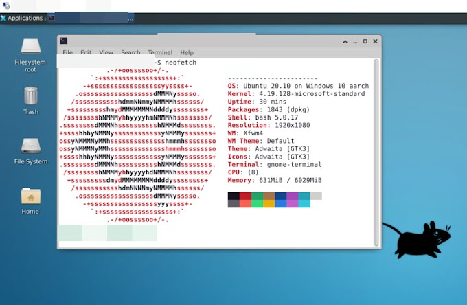 Cara menginstall/menggunakan XRDP di WSL Windows 10 ARM