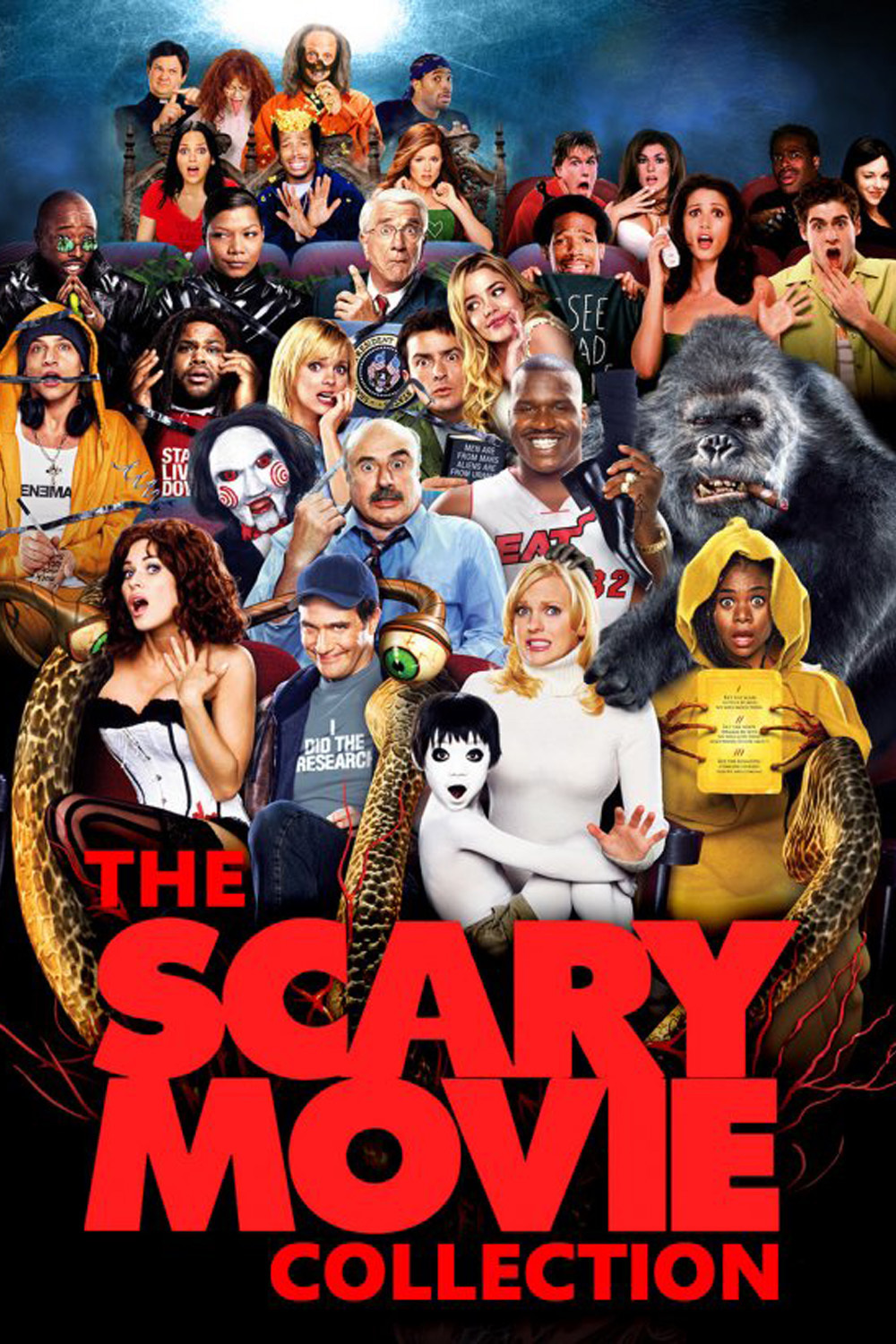 Scary Movie Collection (2000-2013) ταινιες online seires oipeirates greek subs