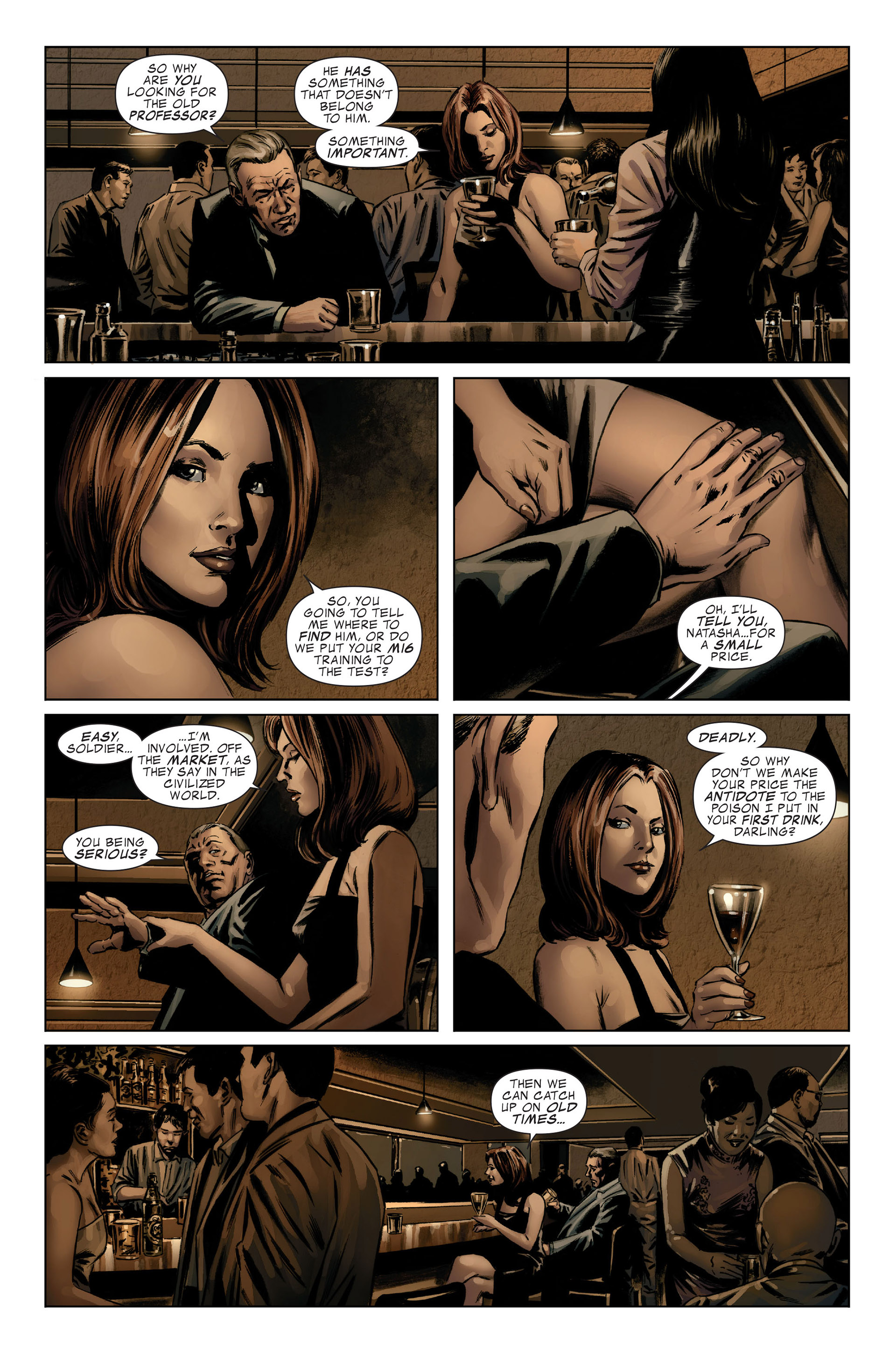 Read online Captain America (2005) comic -  Issue #46 - 14