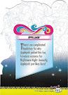 My Little Pony Applejack Series 4 Trading Card