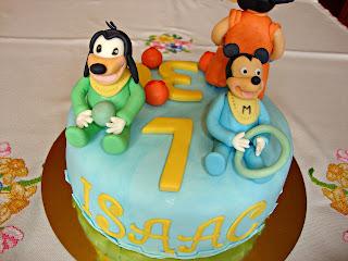 Mickey Mouse - Pluto baby Fondant
