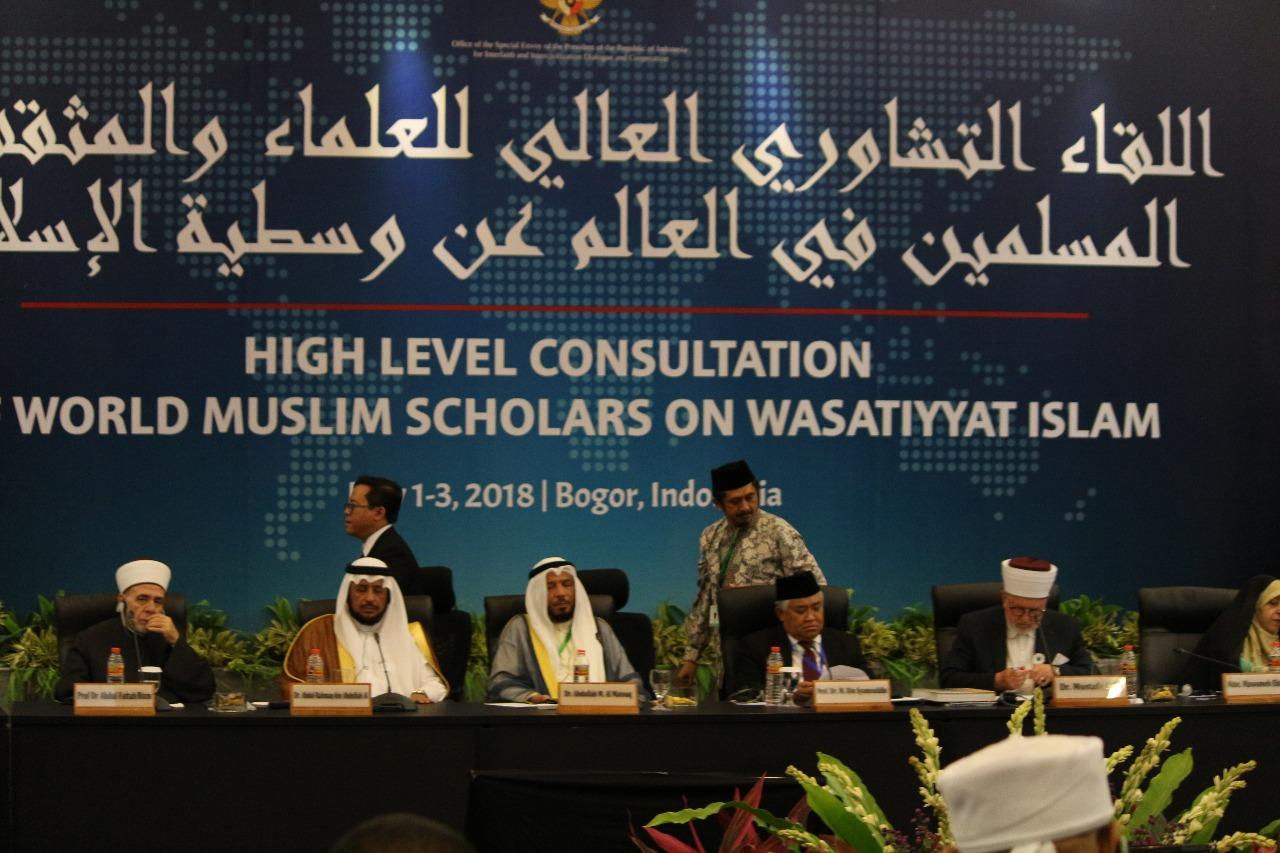 KTT Ulama Dunia di Bogor, Ustadz Zaitun: Semoga Islam Kembali Memimpin Dunia